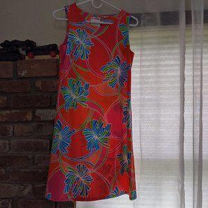 Jude Connally Tropical Sleeveless Dress